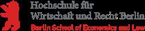 Logo Hochschule für Wirtschaft und Recht Berlin